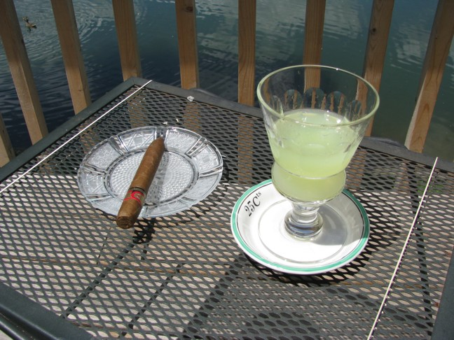 Arturo Fuente and Absinthe